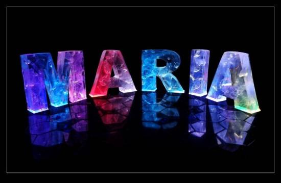 بالصور اسم ماريا مزخرف , خافبات اسم ماريا 4345 3