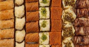 انواع الحلويات الشرقية وطريقة عملها , شرح عمل الحلويات الشرقية بسهوله