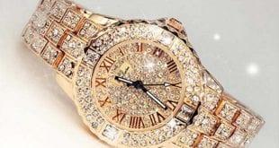 صورة ساعات الماس , افضل المركات العالميه لساعات الماس