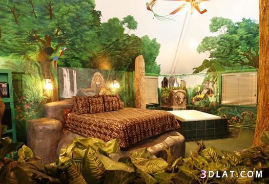 صور غرف نوم عجيبة وغريبة , اغرب ديكورات غرف النوم