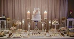 صور طاولة استقبال , صور وافكار جديده لتزين طاولة الاستقبال
