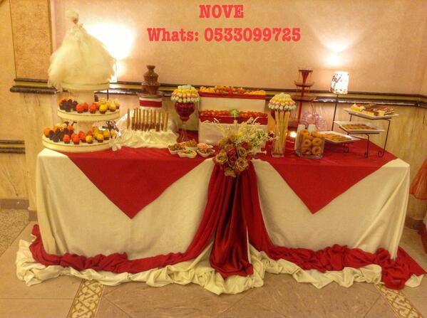 بالصور طاولة استقبال , صور وافكار جديده لتزين طاولة الاستقبال 74863 2
