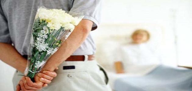 بالصور فضل زيارة المريض , عيادة المرضى وثوابها 74869