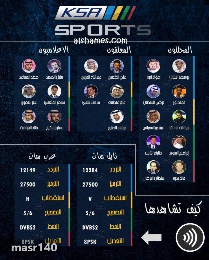 صوره تردد قناة الرياضية السعودية , تردد قنوات السعودية للرياضة